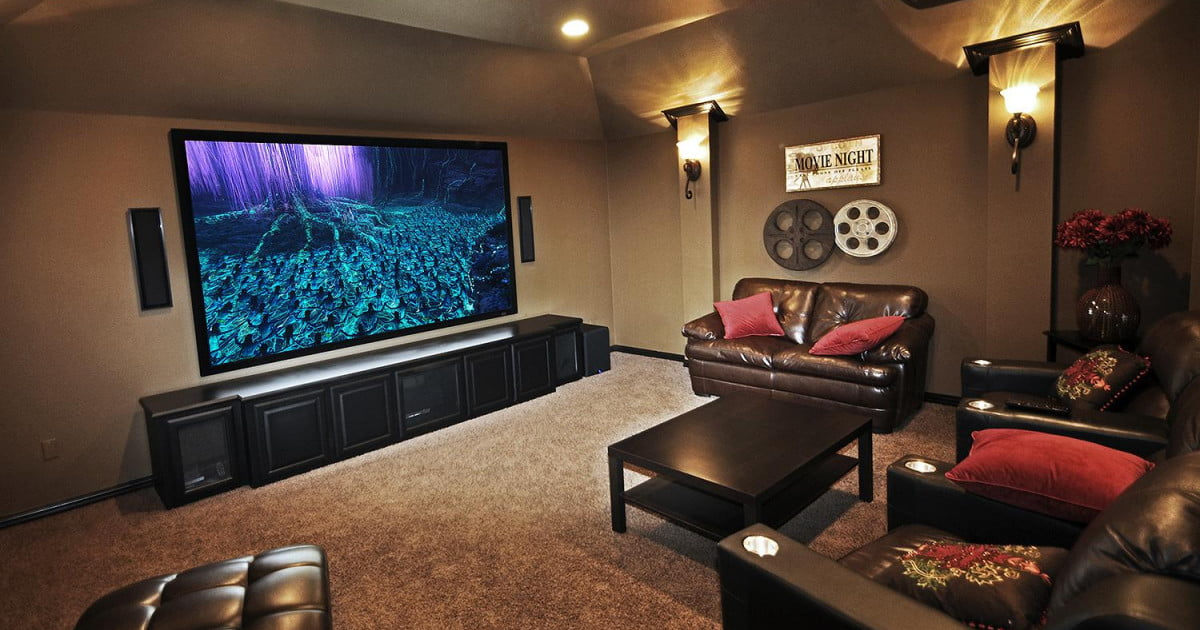 MASS Basement Home Theater Construction Contractors in Massachusetts