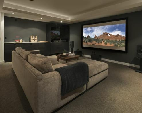 Leominster Home Theater & Man Cave Design/Construction in Leominster, Massachusetts