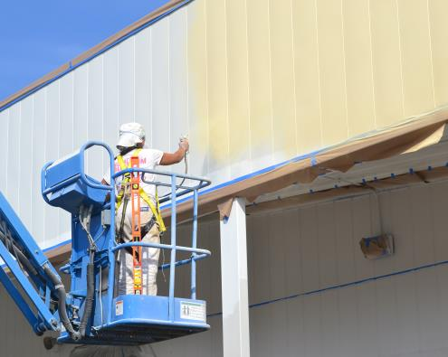 Multi-Story Building Painting Contractors in Fitchburg MA