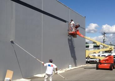 MASS Commercial/Industrial Painting Company in Worcester/Boston, Massachusetts for large commercial office buildings, industrial buildings, hotels, motels and other large buildings.